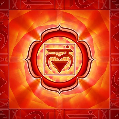 Your first chakra relates to your perineum